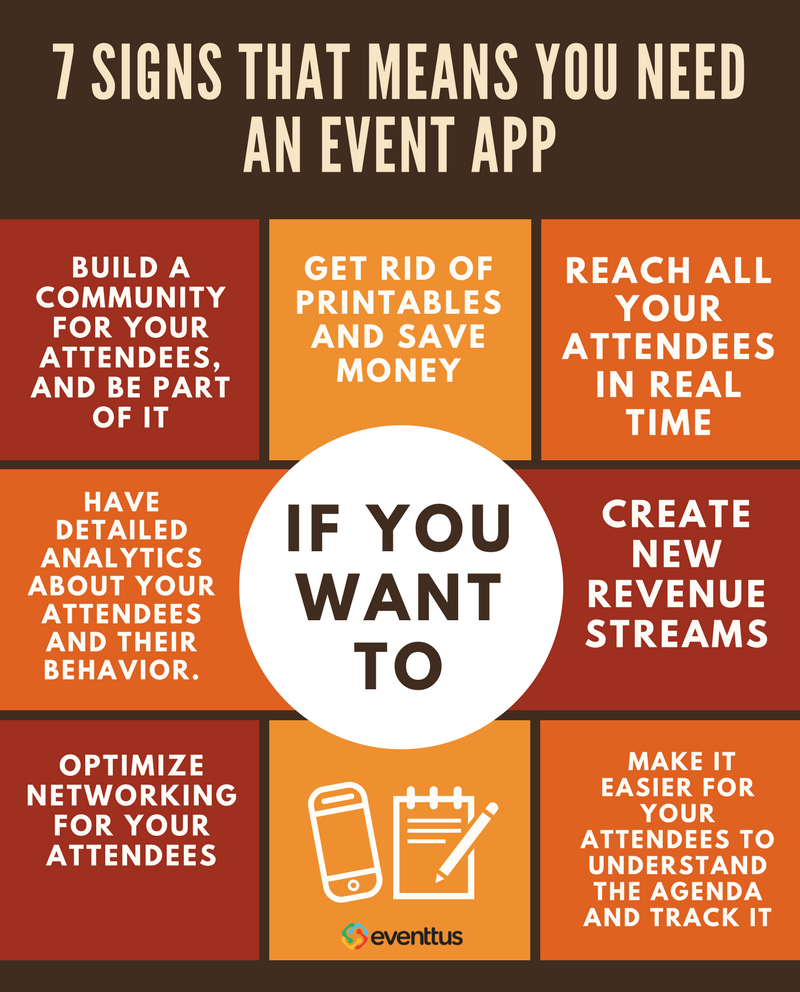 7 signs you need an event app