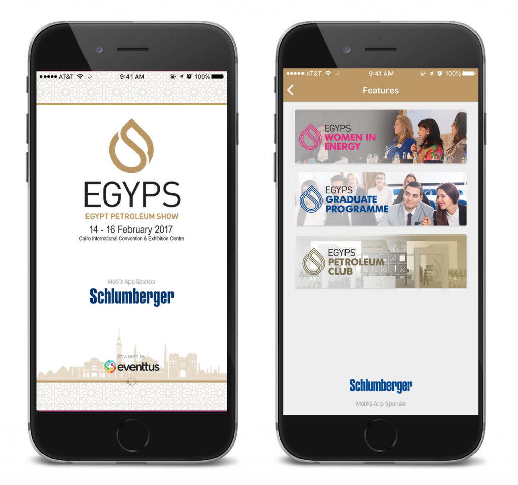 EGYPS Event app sponsorship