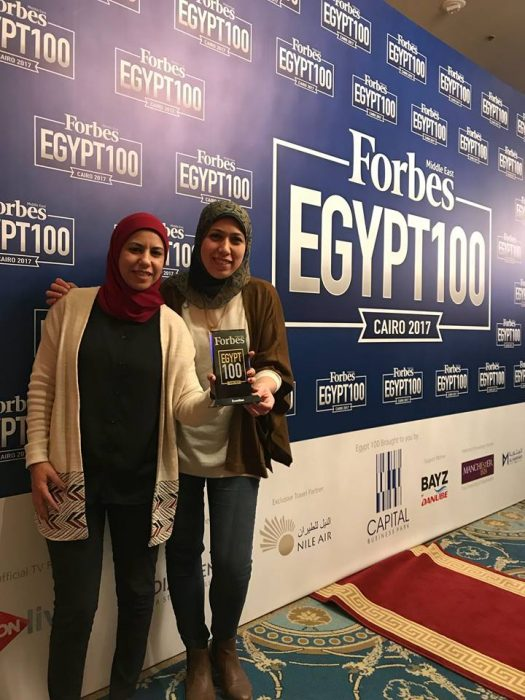 Eventtus co-founders at Forbes Middle East's Top 100