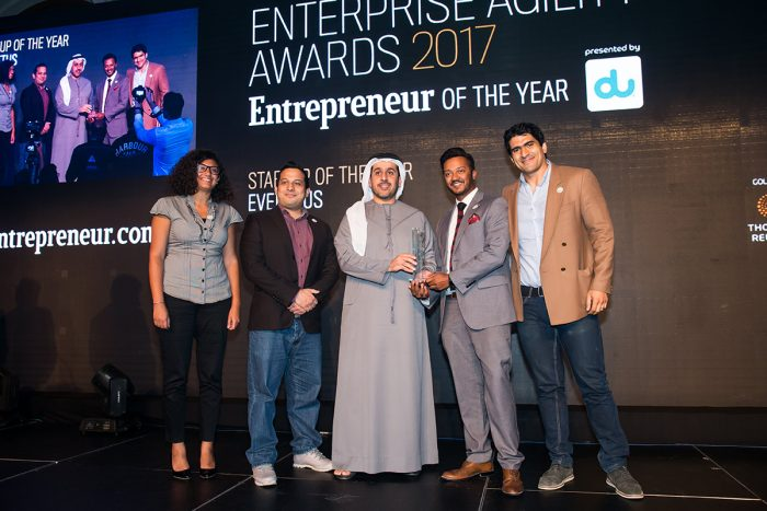 Eventtus wins Startup of the Year award 2017