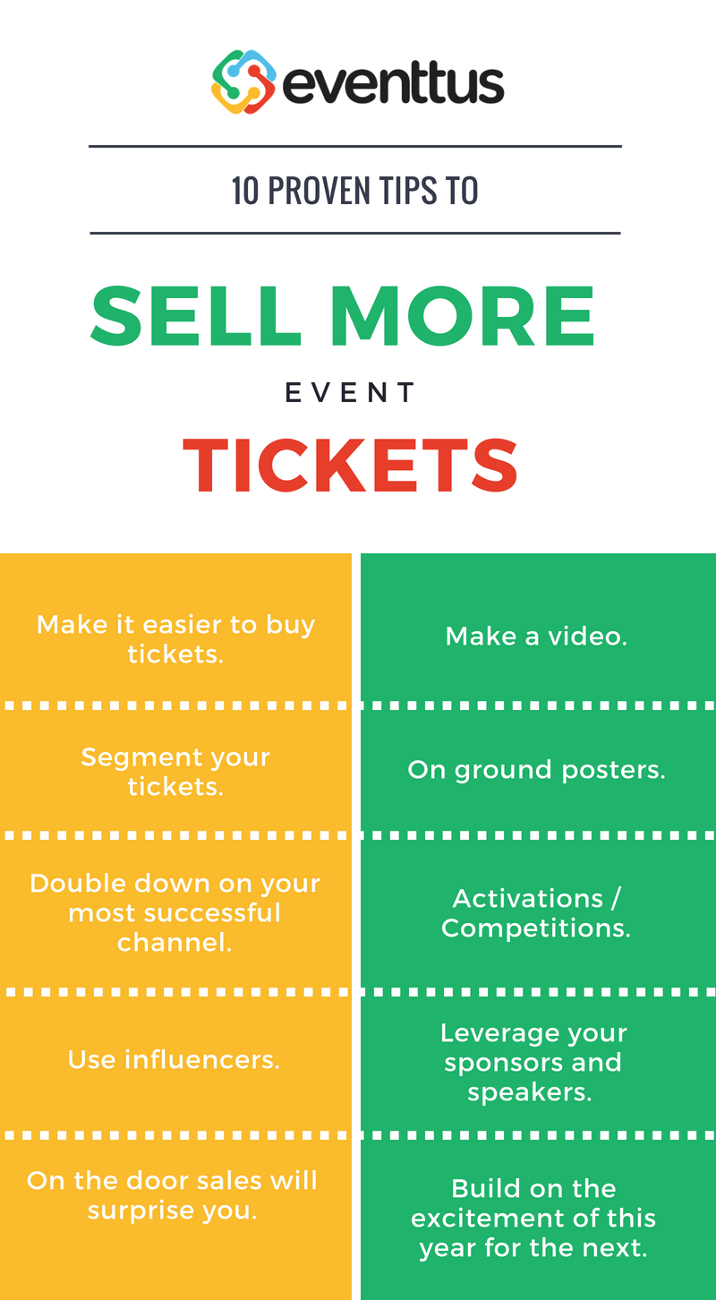 increase your event ticket sales