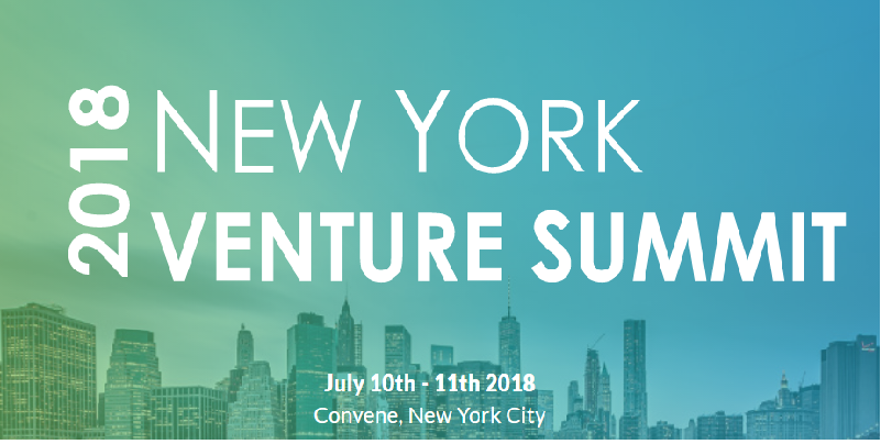 New York Venture Summit 2018 July Events