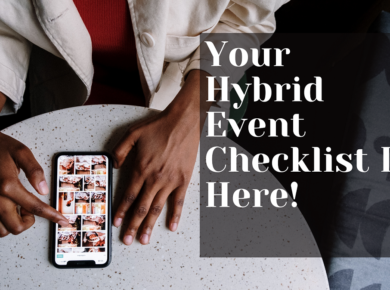 your hybrid event checklist is here
